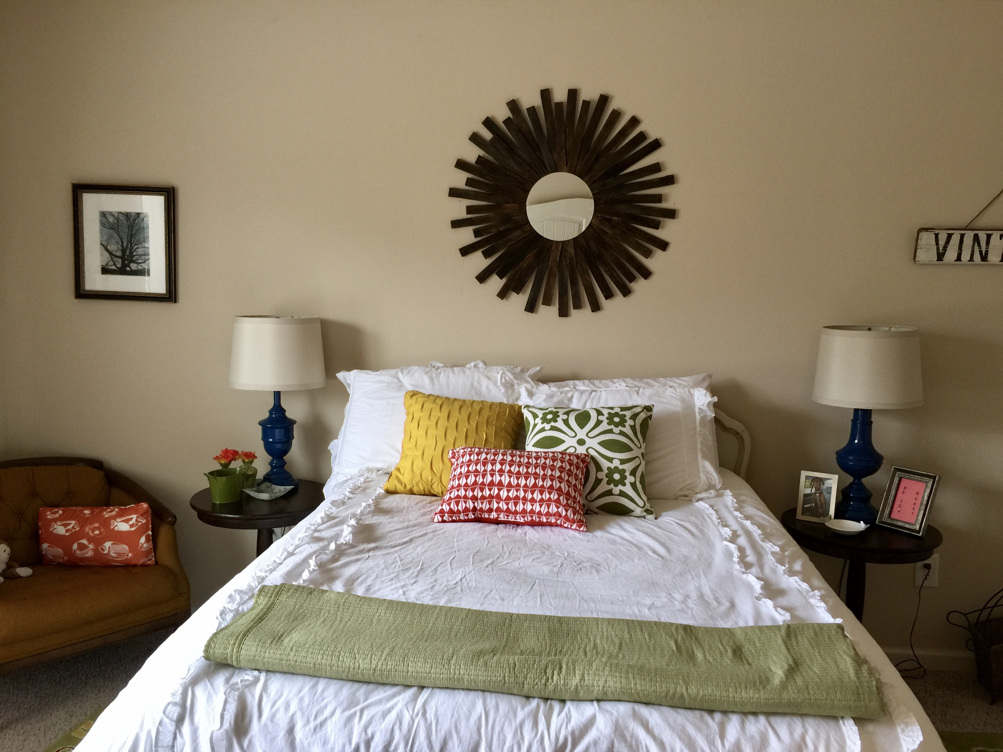 Decorating On A Budget - Guest Bedroom Makeover