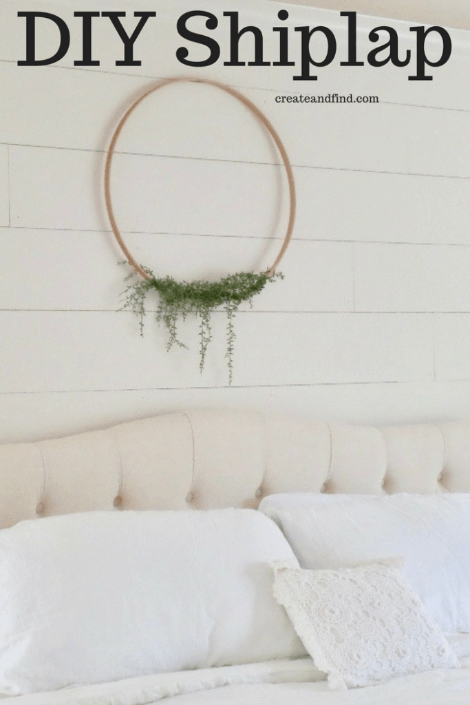 DIY Shiplap - How to Make Your Own!