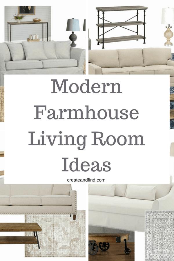 Decorating a Modern Farmhouse Living Room