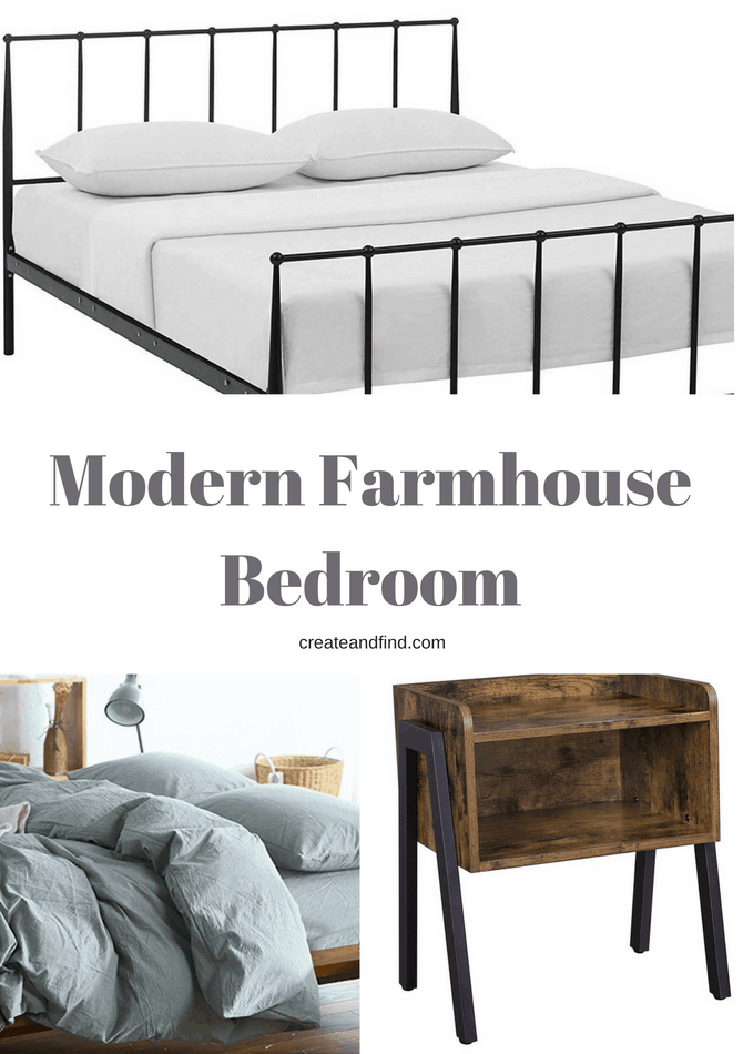 Decorating a Modern Farmhouse Bedroom