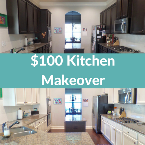 Vintage Kitchen Makeover: Thrifty DIY Kitchen Makeover - The Reveal!