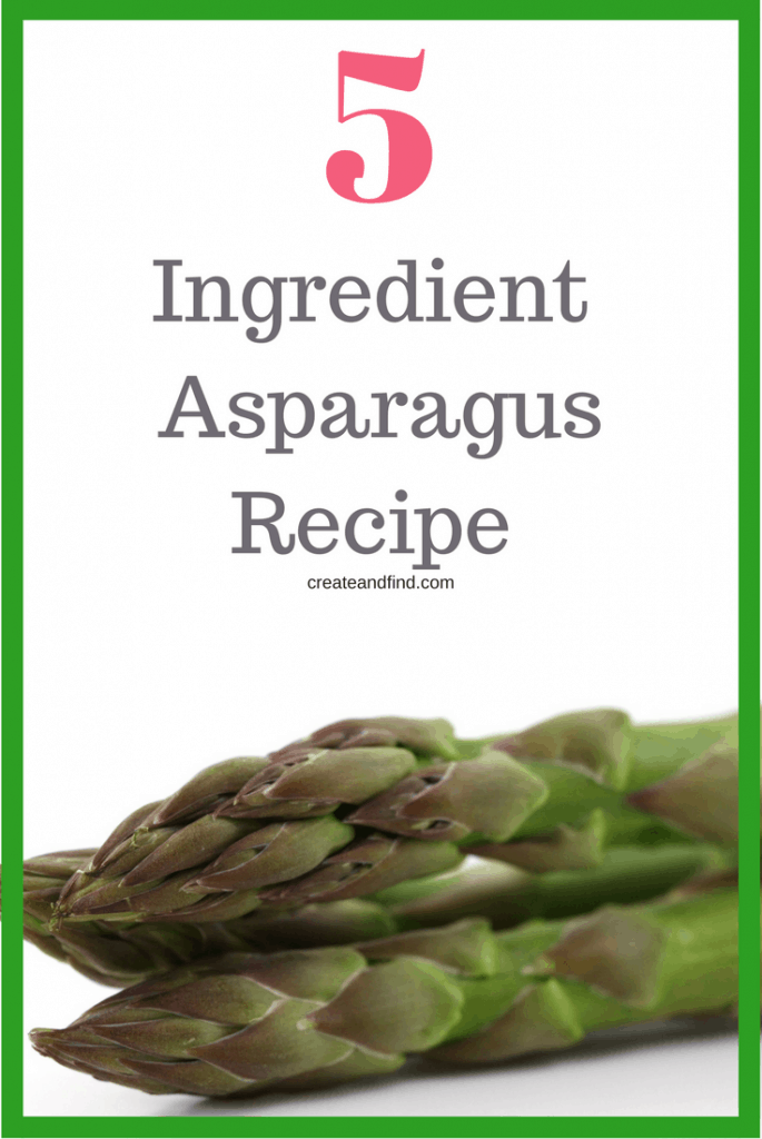 5 ingredient zesty asparagus recipe