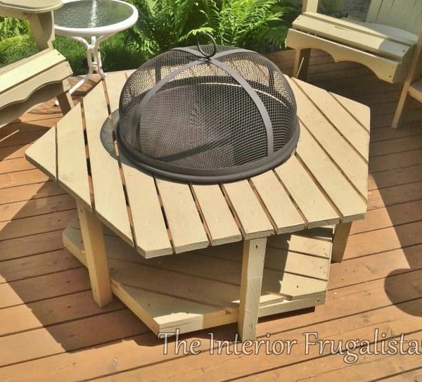 DIY Fire Pit Ideas - Fire Bowl Table