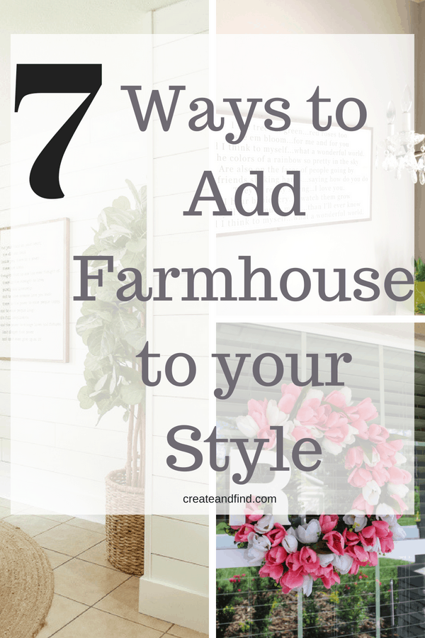 #Add some farmhouse decor to your home with these stunning diy projects and ideas #createandfind #diyfarmhousestyle #farmhousestyle #farmhousedecor #farmhouse