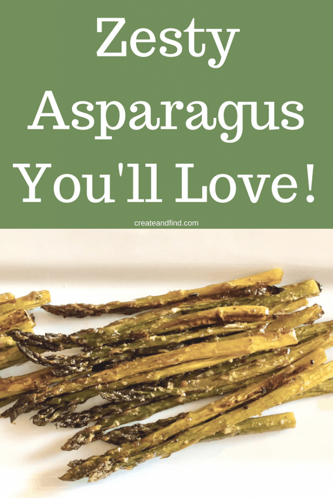 zesty asparagus recipe