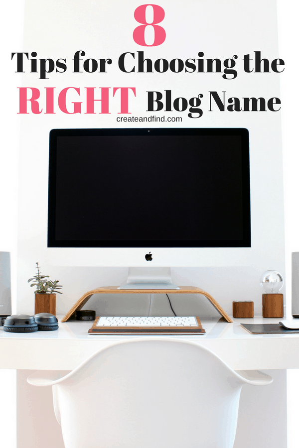 how to choose the right blog name
