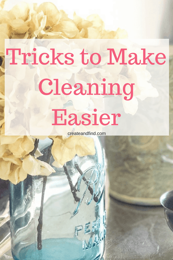 cleaning hacks to make life easier