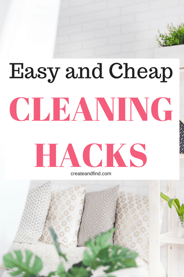 easy and cheap cleaning hacks you need to know