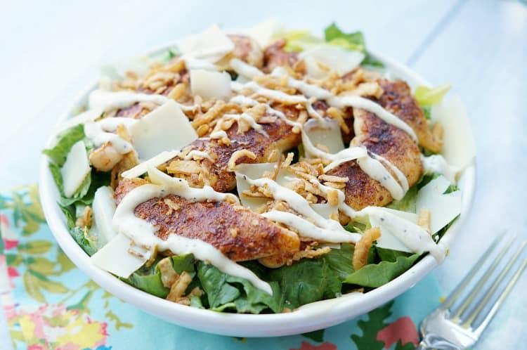 Summer salad - caesar salad