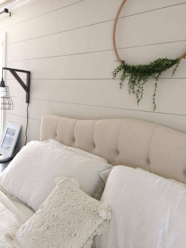 diy shiplap completed photo